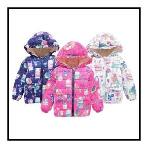 Jaket Musim Dingin Anak Lucu Laki-laki Perempuan