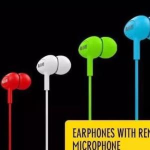 Earphone Sacmes High Fidelity In Ear Handsfree Candy vs AKG Sennheiser
