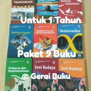Paket Buku Kelas 12 SMA Kurikulum 2013 Revisi Terbaru (9 Buku)