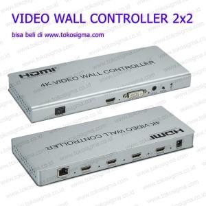 VIDEO WALL CONTROLLER 2X2 SUPPORT INPUT 4K HDMI