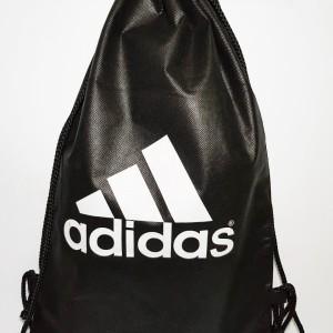 tas ransel / tas serut ADIDAS White Logo | string bag