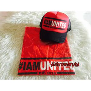Kaos #iamunited gratis topi #iamunited