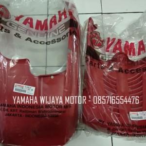 Body Dek Paru & Kolongan Yamaha Mio Sporty / Smile Red Merah Original