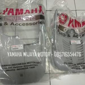 Body Dek Paru & Kolongan Yamaha Mio Sporty / Smile Grey Abu abu Silver