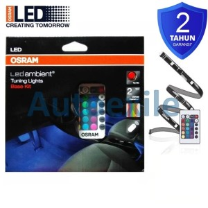Osram LED Int201 Base Kit Lampu Interior Mobil Rubah Warna Pake Remote