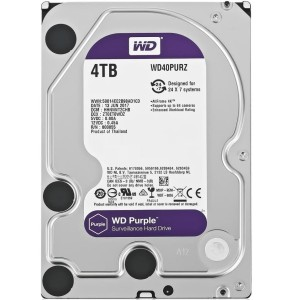 WD Purple 4TB - CCTV HDD - Internal Hard Disk Surveillance