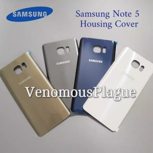 BackDoor Back Cover Casing Tutup Baterai SAMSUNG GALAXY NOTE 5 NOTE5