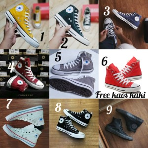 Converse Grade Ori size 36 - 44 sepatu cowo cewe import sneakers biru