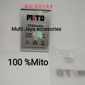 baterai Original 100% Mito W1 2019 /BA-00144 /Battery/