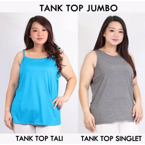 Tank Top Jumbo Baju Inner You Can See