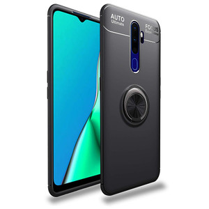 Casing Autofocus Ring Magnetic Case Oppo A9 2020