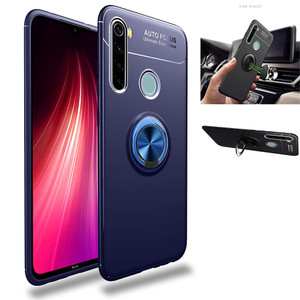 Case Autofocus Ring Magnetic Casing Xiaomi Redmi Note 8