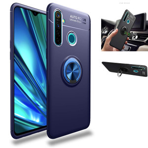 Casing Autofocus Ring Magnetic Case Realme 5 Pro