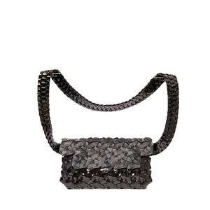 Byo Fragment Belt Bag in Black