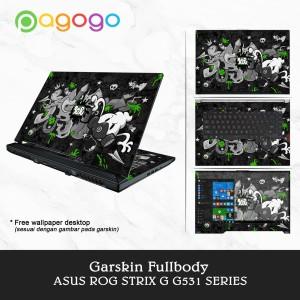 Garskin Laptop Skin Laptop Asus ROG G531GW G531GV G531GU G531GT Fullbo