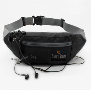 Tas pinggang Pria Mini Fourty four 44 Lubang kabel Headset - Waistbag