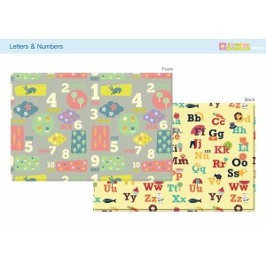 Karpet / Playmat Comflor, Motif Letter&Number, Size M 1850x1250x12mm