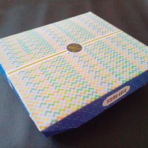 PAPER BOX LUNCH MOTIF SKAT 5 - SEKAT 5 - PAPER BOX KERTAS - TAKE AWAY