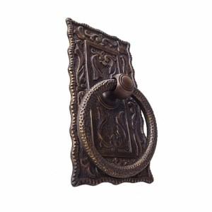 "6"" Handle Pintu Lemari Tarikan / Door Ring Pull - HRP2020 Ribbed Edge"