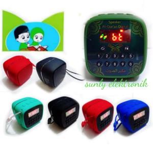 speaker Al-Qur'an digital V600 mini with bluetooth ada tombol repeat