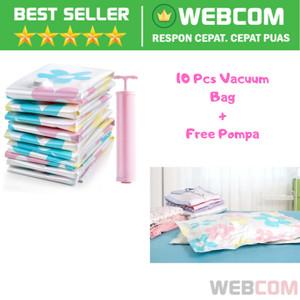 Kualitas Terbaik 10 PCS Vacuum Bag Plastik Storage Press Vakum Kantong