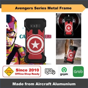 Captain America Frame Samsung Galaxy Note 8