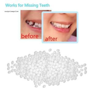 Dental Denture Temporary Restoration Solid Glue Tooth Repair Kit Or