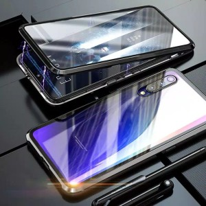 Double Glass case magnet SAMSUNG GALAXI A50s magnetic original
