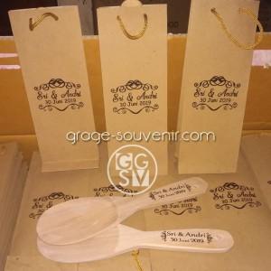 Centong Kayu Kemas Paperbag Souvenir
