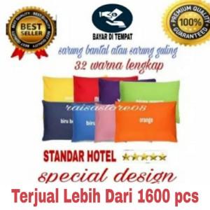 SARUNG BANTAL TIDUR STANDAR HOTEL 50 x 70