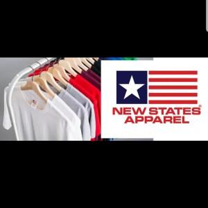 Kaos Polos New States Apparel (NSA)