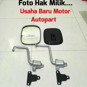 Paket Gagang/Tangkai Spion + Kaca Spion Toyota Landcruiser Hardtop 2F
