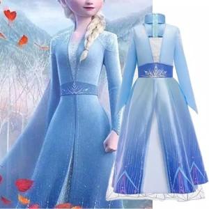 Kostum Princess Elsa Frozen 2 Cg61
