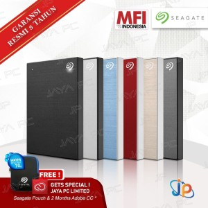 Seagate BackUp Plus Slim 1TB - HDD / Hardisk / Harddisk External 2.5""
