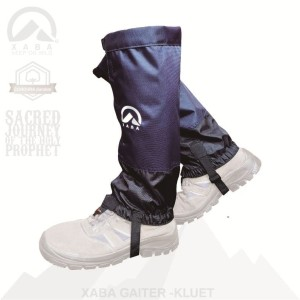 Gaiter / Gaiters, Pelindung Kaki Outdoor Hiking - XABA Kluet 02