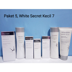 Wardah White Secret Series Paket 5