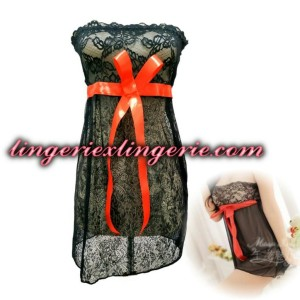 L-113 Lingerie Elegant Night Sleep Dress