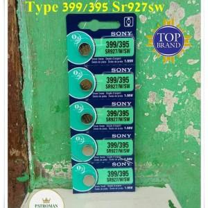 BATERAI JAM TANGAN MERK SONY TIPE 399/395 ORIGINAL BATRE JAM