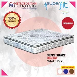 Springbed Comforta SuperFit Super Silver kasur 160 x 200 Spring Bed