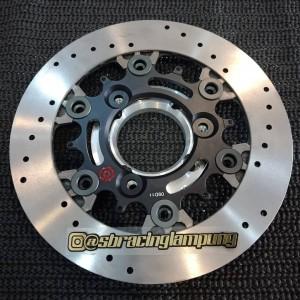 piringan brembo rotor plus adaptor 220mm