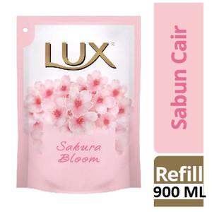 Sabun Lux 900 ml / Sabun Lux Refill Sakura Velvet Jasmine 900 ml 900ml