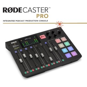 RODE Rodecaster PRO Intergrated Podcast Production Studio Mic Channel