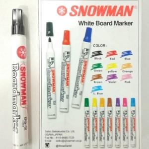 Spidol White Board Snowman BG-12 Marker