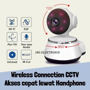 IP CAM Wireless IP CAMERA CCTV Wifi Ipcam Security Infrared Night 720p