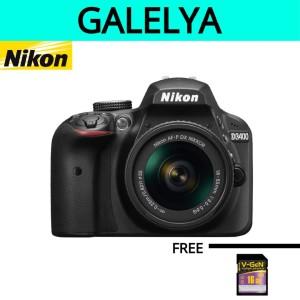 kamera nikon D3400 KIT AF-P 18-55 VR