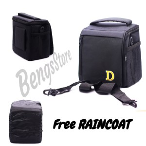 Tas Kamera Mirrorless atau Dslr NIKON Free Raincoat