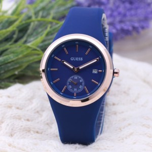 jam tangan GUESS WANITA NEW MODEL AC RUBBER