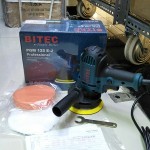 """Mesin poles BITEC PGM 125 E-J 5"""" Polisher grinding machine PGM125E-J 5"""