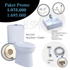 PROMO! Wastafel Kloset Jet Washer Sericite/ Jet Shower/Monoblock