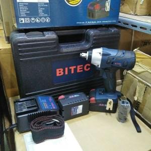 Cordless impact wrench BITEC BIW 50/400 SC-T Mesin kunci baut baterai
